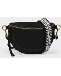 Isabel Marant Skano Belt Bags & Fanny Packs Black