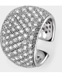 Tom Wood Liz Ear Cuff In Silver - Metallic