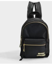 Marc Jacobs - Mini Backpack In Black Polyester - Lyst