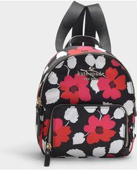Kate Spade - Watson Lane Small Hartley Backpack In Floral Nylon - Lyst