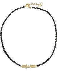 Joanna Laura Constantine | Black Pearl Choker | Lyst