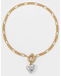 Timeless Pearly Collier à Perles Baroques - Métallisé