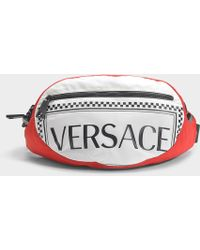 Versace Multi-pattern Belt Bag - Red