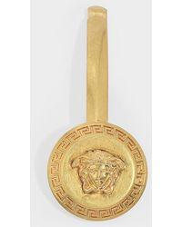 Versace Haarnadel Medusa aus goldenem Messing - Mettallic