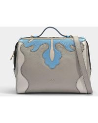 Furla - Dalia Medium Top Handle Bag In Sand Calfskin - Lyst