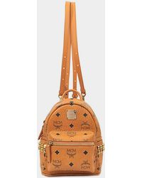 MCM - X-mini Studded Stark Backpack - Lyst