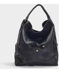 Jérôme Dreyfuss - Gaspard Bag In Black Calfskin - Lyst