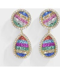 Shourouk - Shimer Rainbow Earrings - Lyst
