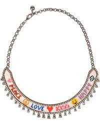 Shourouk | Happy Love Necklace | Lyst