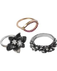 Voodoo Jewels   Magnificent Flower Ring   Lyst