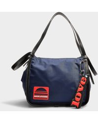 Marc Jacobs Sport Tote In Blue Nylon
