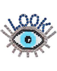 Shourouk - Emojibling Look Brooch - Lyst