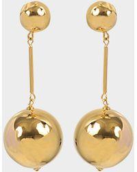 JW Anderson - Sphere Drop Earring - Lyst