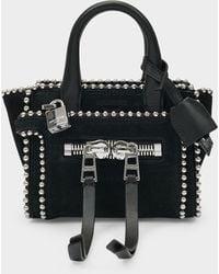 Zadig & Voltaire Handbag Candide Nano In Black Leather