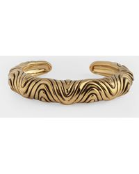 Aurelie Bidermann Miri Bracelet In Gold Metal - Metallic