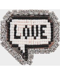 Shourouk - Emojibling Bul Love Brooch - Lyst