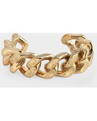Burberry Bracelet Chain In Golden Brass - Metallic