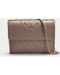 Tory Burch - Fleming Leather Shoulder Bag - Lyst