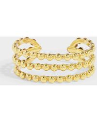 Sylvia Toledano - Talitha Bracelet In Gold-plated Brass - Lyst