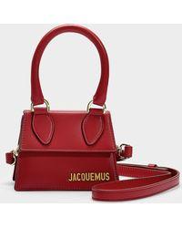 Jacquemus - Le Chiquita Bag In Red Calfskin - Lyst