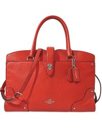 COACH - North/south Swingpack In Signature Fabric - Lyst