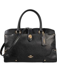 COACH - Mercer 30 Satchel Bag - Lyst