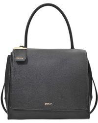 DKNY Chelsea Flap Top Handle Bag - Red