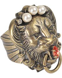Anton Heunis | Lion Head Ring | Lyst