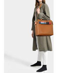 Burberry - The Medium Belt Bag In Cognac Calfskin - Lyst