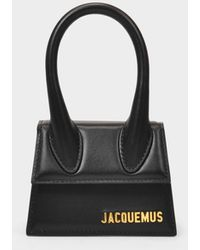 Jacquemus Le Chiquito Bag In Black Leather