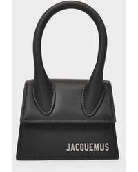 Jacquemus Le Chiquito Homme en Cuir Noir