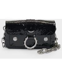 Zadig & Voltaire Kate Wallet Bag In Black Leather