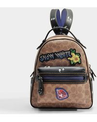 COACH - Coated Canvas Signature Multi Patches Campus Backpack - Lyst