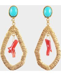 Sylvia Toledano - Corail Drop Earrings - Lyst