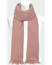 Acne Studios - Canada New Scarf In Pale Pink Wool - Lyst