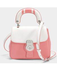 Burberry - Small Dk88 Top Handle Bag - Lyst