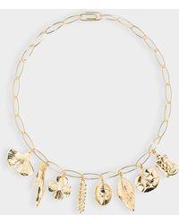 Aurelie Bidermann Aurélie Long Necklace - Metallic