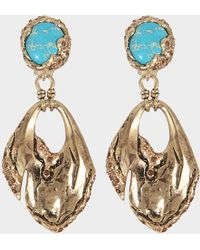 Roberto Cavalli - Glam Stone Earrings - Lyst