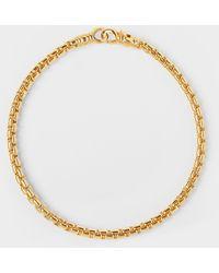 Tom Wood Bracelet Venetian M Braceleten Argent et Or - Métallisé