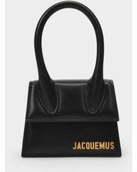 Jacquemus Sac à Main Le Chiquito en Cuir de Veau Lisse Noir
