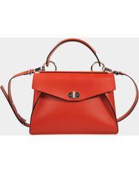 Proenza Schouler - Medium Hava Top Handle Smooth Leather Bag - Lyst