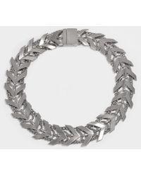 Roberto Cavalli - Aella Necklace In Silver - Lyst