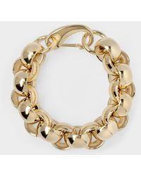 Laura Lombardi Bracelet Luna Aus Messing - Metallic