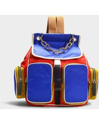 Marni - Carry All Backpack In Multicolor Nylon - Lyst