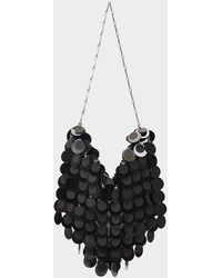 Paco Rabanne Handbag Sparkle Hobo In Black