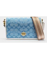 COACH Tasche Hayden aus Canvas Denim - Blau