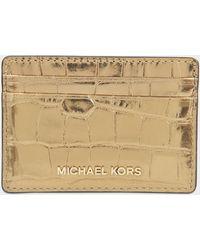 MICHAEL Michael Kors - Money Pieces Card Holder - Lyst