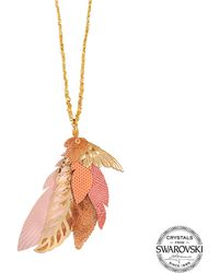Gas Bijoux - Exclusive L'iroquoise Necklace With Swarovski Crystals - Lyst
