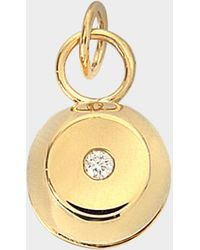 Charlotte Chesnais - Telemaque Bell Pendant 750/1000th Yellow Gold With Diamond - Lyst