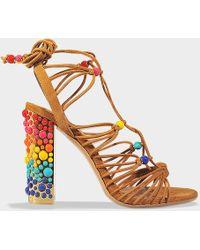 Ferragamo - Rainbow Glad Sandal - Lyst